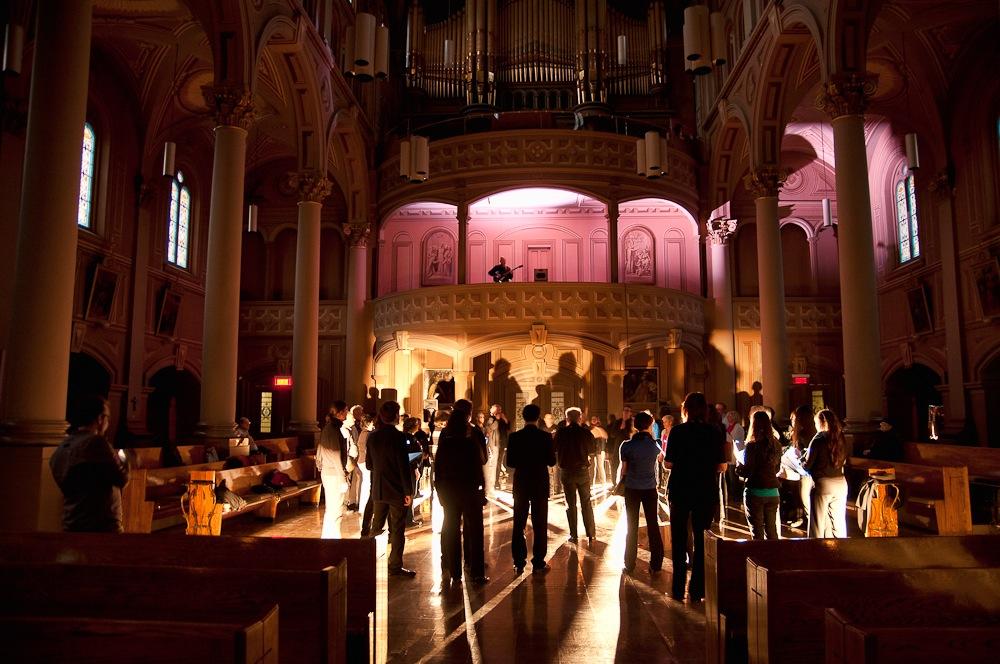 Célébration Pascale au Gesù 2012