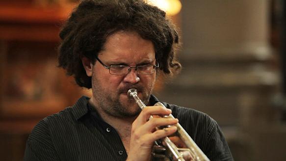 Maxime St-Pierre - trompette (Gloria de Sylvain Picard 6 juillet 2013 à l'église du Gesù)
